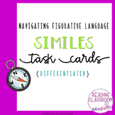 Similes Task Cards {Differentiated}