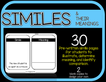 Similes & Their Meanings