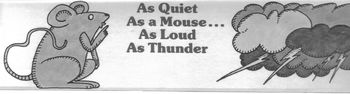 Similes Worksheet: As Quiet As a Mouse w/ 6 Recogniton + 6 Application Questions