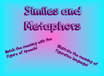 Similes and Metaphor Meaning Match