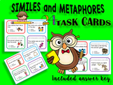 Identifying Similes and Metaphors Task Cards