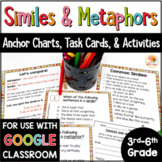 Similes and Metaphors Activities & Worksheets w/ Google Option