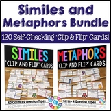 Similes and Metaphors Activities: Similes and Metaphors Task Cards Bundle