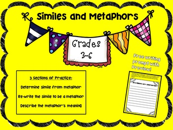 Similes and Metaphors: Community Helpers