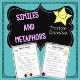 Similes and Metaphors Practice Activities