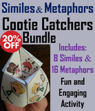 Similes and Metaphors Activities Bundle: 4th to 7th Grade Reading Comprehension