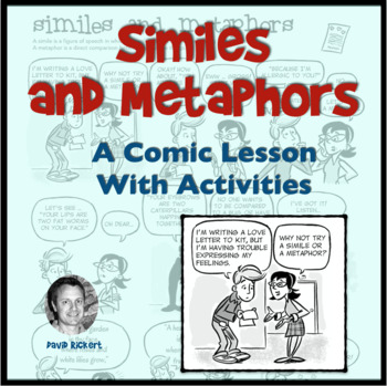 Similes and Metaphors Comic With Activities