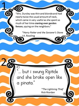 Similes and Metaphors: A Literary Activity