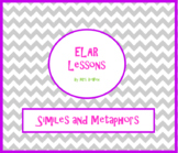 Similes and Metaphors Activity