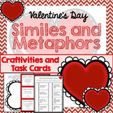 Similes and Metaphors, Craftivities, 24 Task Cards, Valent