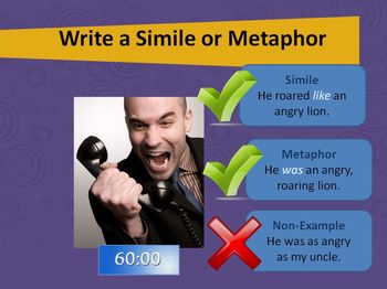 Similes and Metaphors - Intro to Figurative Language PowerPoint