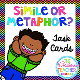 Similes and Metaphors Task Cards/ Scoot Activity