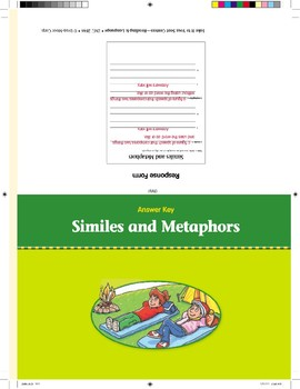 Similes and Metaphors (Take It to Your Seat Centers)