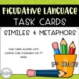 Similes and Metaphors Task Card Set