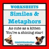 Similes and Metaphors Worksheets (12!)