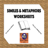 Similes and Metaphors Worksheets (12!) 4.5.A & 5.5.A