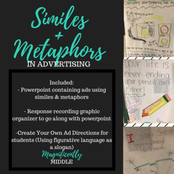 Similes and Metaphors in Advertising- Figurative Language Lesson Plan