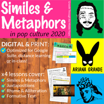 Similes and Metaphors in Pop Culture (2019) by Growth