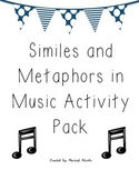 Similes and Metaphors in Music Activity Pack