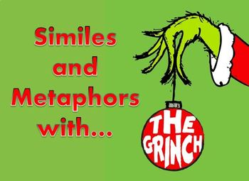 Similes and Metaphors with The Grinch