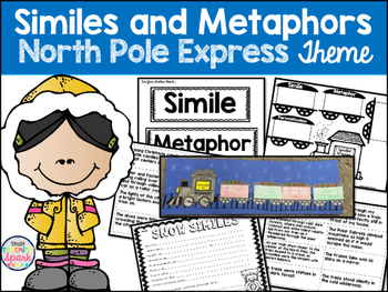 Similes and Metaphors with the North Pole Express