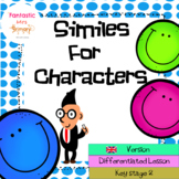Similes for Characters