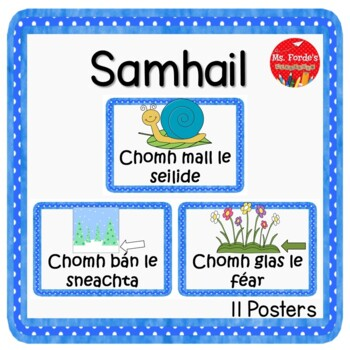Similes in Irish language (GAEILGE)