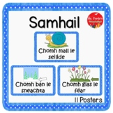 Similes in Irish language (GAEILGE)