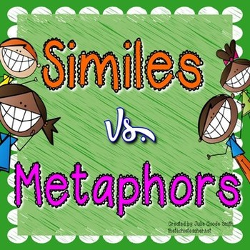 Similes vs. Metaphors PowerPoint