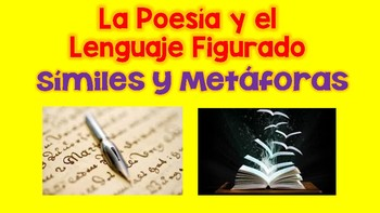 Simil Y Metaforas Teaching Resources | Teachers Pay Teachers