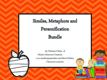 Similie, Metaphor and Personification Bundle