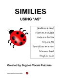 """Similies using """"as"""""""