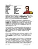 Simón Bolívar Biografía: Spanish Biography South American Liberator / Libertador