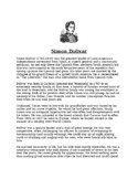 Simon Bolivar Biography Article and Assignment Worksheet