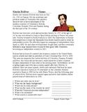 Simon Bolivar: Biography of El Libertador (English Version)