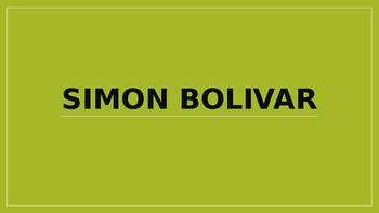Simon Bolivar Power Point