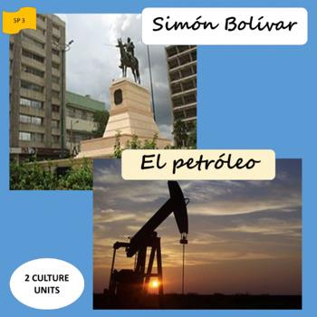 Simón Bolívar and oil; 2 units about Venezuela - SP Intermediate 1