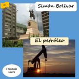 Simón Bolívar (1), Petroleum (2) units about Venezuela - S