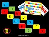 Simon Says Board Game (Verbs)