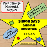 Simon Says-Cardinal Directions - 5-Minute Madness