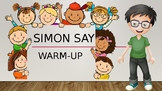 Simon Says: ESL Warm-up PPT for Young Learners