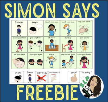 Simon Says FREEBIE