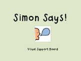 Simon Says Game Visual Support