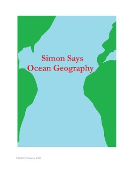 Simon Says Ocean Geography!