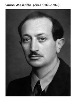 Simon Wiesenthal Handout