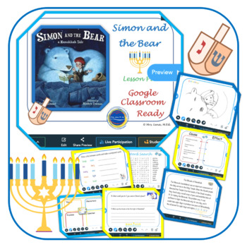 Simon and The Bear a Hanukkah Tale - lesson plan
