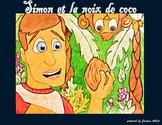 """Simon et la noix de coco - French CI - TPRS - direct object pronouns and """"y"""""""
