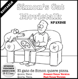 Simon's Cat Spanish MovieTalk