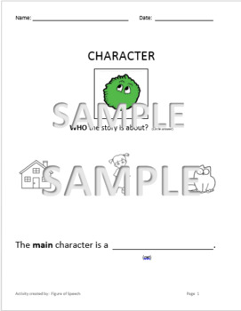 Story grammar teaching resources teachers pay teachers simons cat the monster using story grammar marker ccuart Choice Image