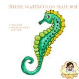 Free Water Color Seahorse Check Out My Work